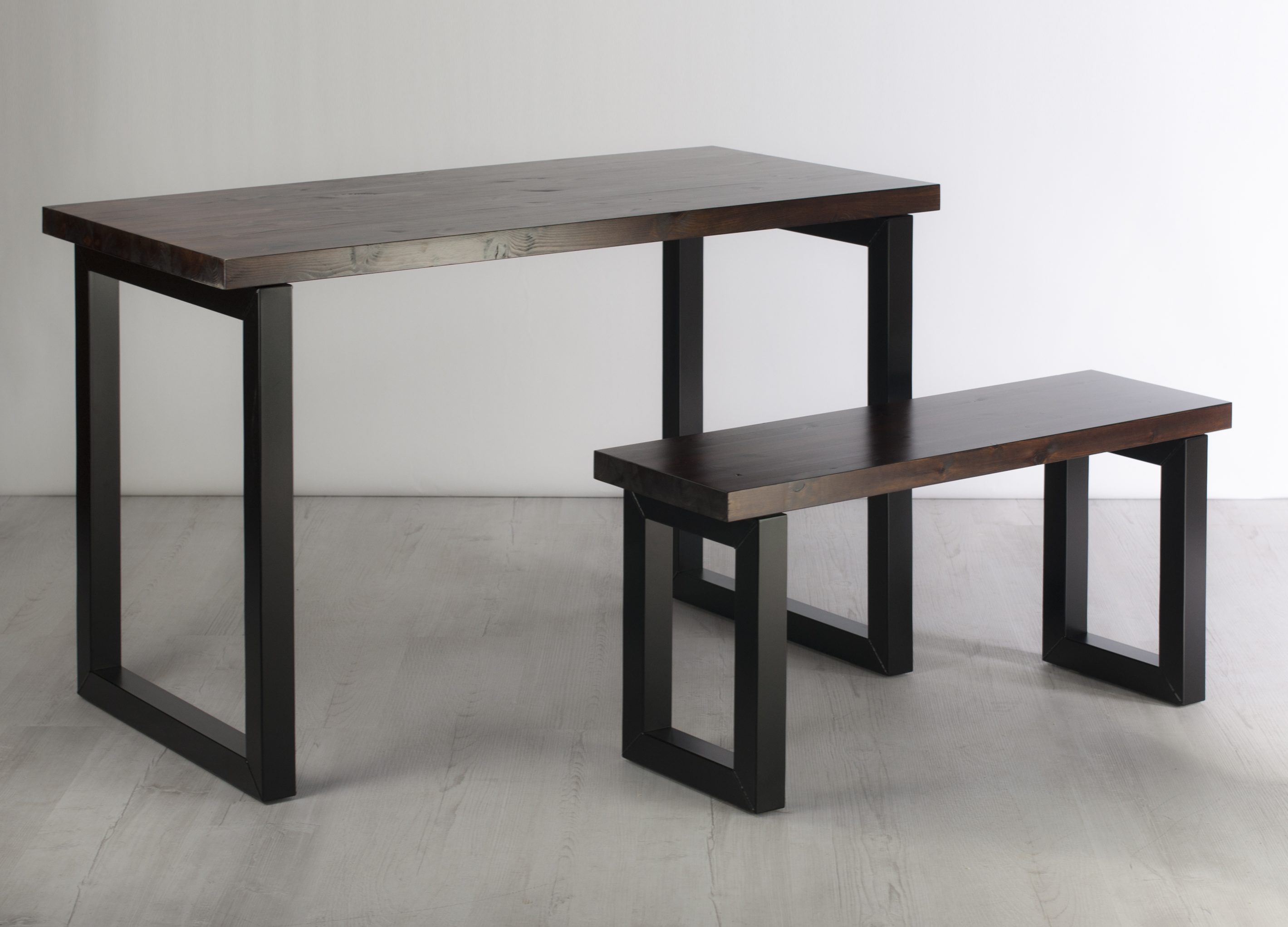 Square Tube Desk and Bench