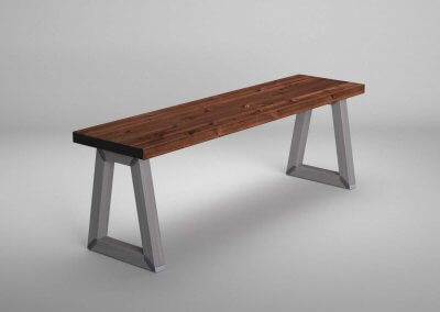 Industrial-Style-Steel-Trapesium-Leg-Dining-Table-and-Bench-Set_4