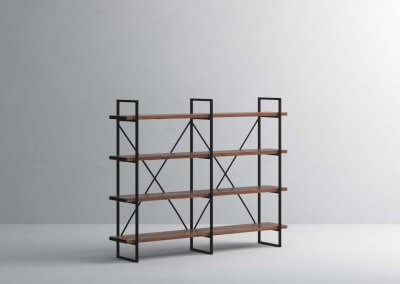 4-Shelf-30mm-Walnut-Double-Angle